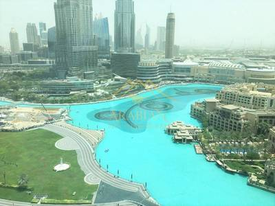 3 Bedroom Flat for Rent in Downtown Dubai, Dubai - Luxuriously Furnished 3 bedrooms Fountain View in Tower 5