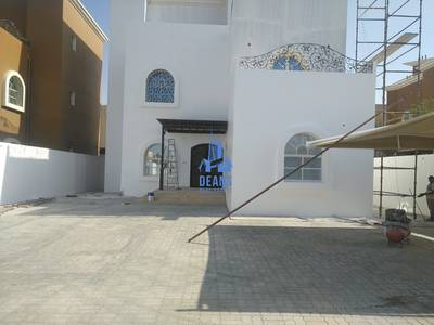 6 Bedroom Villa for Rent in Khalifa City A, Abu Dhabi - INDEPENDENT 6 MESTER BR  VILLA WITH DRIVER IN KCA