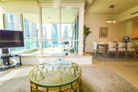 2 Bedroom Flat for Sale in Dubai Marina, Dubai - High Floor| Vacant| Study | Marina Views