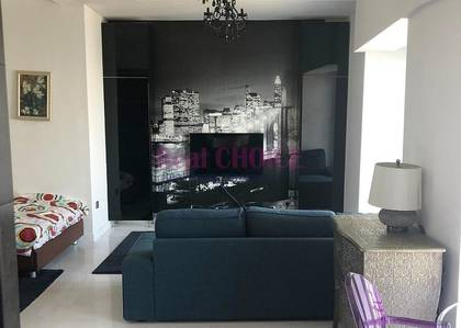 Studio for Rent in Dubai Marina, Dubai - Fully Furnished|Full Marina View|4 Chqs