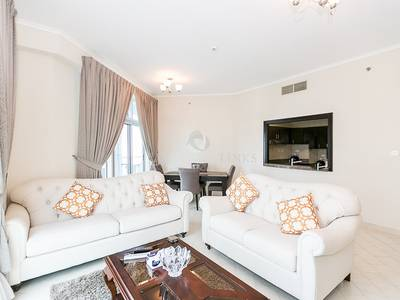 3 Bedroom Apartment for Rent in Dubai Marina, Dubai - Tastefully furnished 3 bedroom apartment