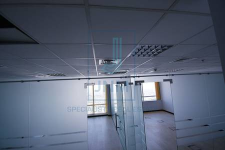 Office for Rent in Jumeirah Lake Towers (JLT), Dubai - High floor fitted office & Liwa Heights