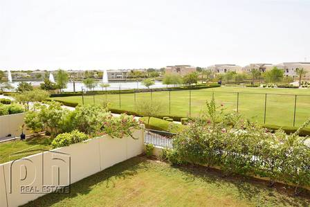 4 Bedroom Villa for Sale in Arabian Ranches, Dubai - Lake View-Upgraded 4 bed-Vacant-Stunning