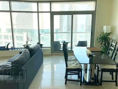 2 Bedroom Flat for Rent in Dubai Marina, Dubai - Fully Furnished Partial Marina & Sea View
