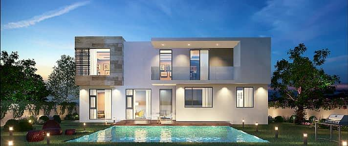 4 Bedroom Villa for Sale in Al Suyoh, Sharjah - At full speed, go to trusted project and own villa without service charge for ever