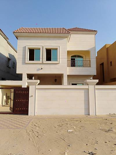 7 Bedroom Villa for Sale in Al Zahraa, Ajman - Luxury villa for sale in Ajman