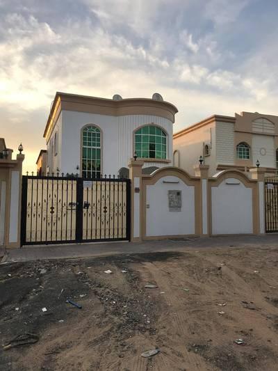 5 Bedroom Villa for Rent in Al Rawda, Ajman - Villa for rent in Ajman Electricity citizen with air conditioners