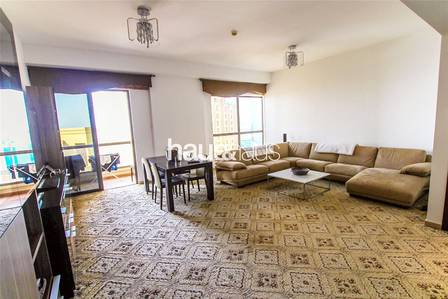 2 Bedroom Flat for Rent in Jumeirah Beach Residence (JBR), Dubai - Furnished || Sea Views || Great Location
