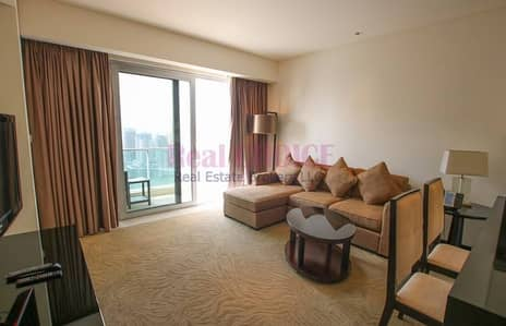 1 Bedroom Hotel Apartment for Rent in Dubai Marina, Dubai - Luxurious Furnished 1BR Hotel Apt|Mid