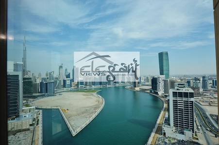 2 Bedroom Apartment for Rent in Business Bay, Dubai - CHURCHILL   2BEDROOM   CANAL VIEW   HIGH FLOOR