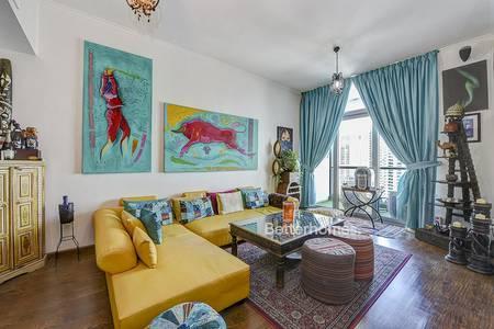 1 Bedroom Flat for Rent in Dubai Marina, Dubai - Unfurnished | High Floor | Available