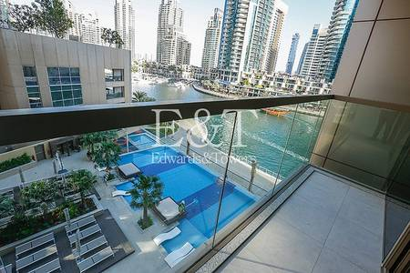 1 Bedroom Flat for Rent in Dubai Marina, Dubai - Luxury Waterfront Living with Marina View