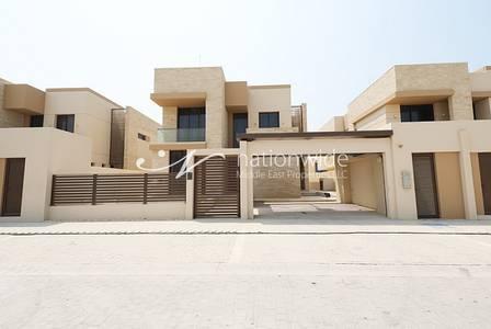 6 Bedroom Villa for Sale in Saadiyat Island, Abu Dhabi - Dazzling 6 BR Villa with Maids + Laundry