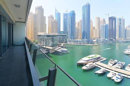 2 Bedroom Apartment for Sale in Dubai Marina, Dubai - Affordable Price   2 Beds   Silverene Towers   Marina View