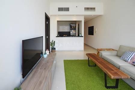 1 Bedroom Flat for Sale in Dubai Marina, Dubai - Silverene Tower A   1BR   Pool View   sq.ft 609   Dubai Marina