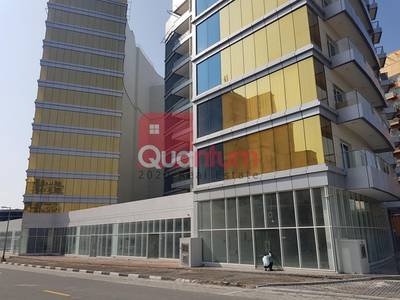 Shop for Rent in Dubai Silicon Oasis, Dubai - Shell and Core | Best Price | Key Location | Ground Floor | Road SIde
