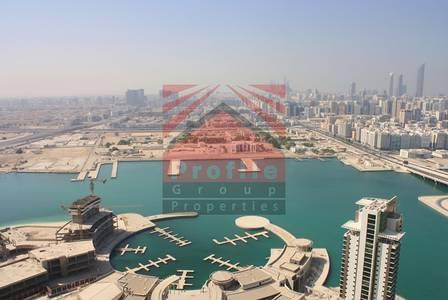 1 Bedroom Flat for Sale in Al Reem Island, Abu Dhabi - 1 Bedroom with Marina Sea View - Marina Square