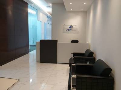 Office for Rent in Business Bay, Dubai - Serviced Office In the Heart Of Dubai - Burj Khalifa View