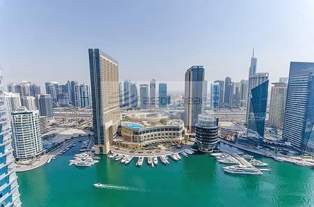 Studio for Rent in Dubai Marina, Dubai - Furnished Studio with Balcony |Mid Floor