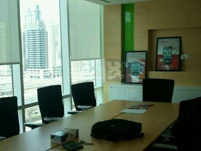 Office for Rent in Jumeirah Lake Towers (JLT), Dubai - Spacious and Fitted  Office with SZR View