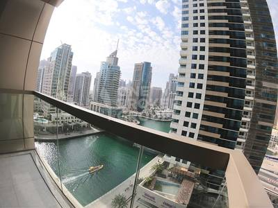 1 Bedroom Flat for Rent in Dubai Marina, Dubai - Brend New 1 BR with partial Marina View