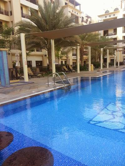 Studio for Rent in Al Mamzar, Dubai - Furnished STUDIO - The Square
