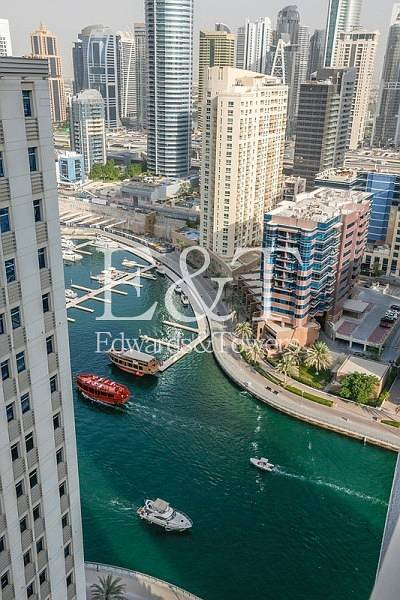 2 Bedroom Flat for Rent in Dubai Marina, Dubai - Brand New Two bedrooms| Very High floor