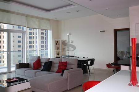 2 Bedroom Apartment for Rent in Palm Jumeirah, Dubai - 2BR+Study I Stunning Sea/Atlantic View I