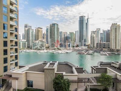 3 Bedroom Apartment for Rent in Dubai Marina, Dubai - Full Marina view   Luxury 3 Beds+Hall   Shemara tower