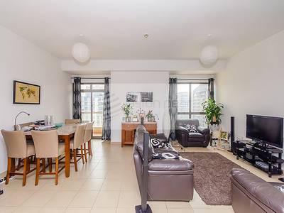 2 Bedroom Apartment for Sale in Jumeirah Beach Residence (JBR), Dubai - Full Marina View