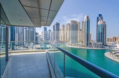 3 Bedroom Apartment for Sale in Dubai Marina, Dubai - Full Marina / Sea View