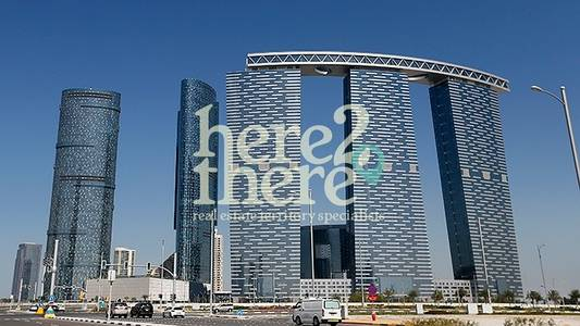 2 Bedroom Flat for Rent in Al Reem Island, Abu Dhabi - Vacant Now 2BR+M Apartment in Gate Tower