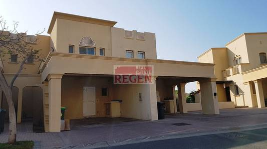 2 Bedroom Villa for Rent in The Springs, Dubai - 2 + Study - Landscaped villa in Springs 14  - neat & well maintained - To Let
