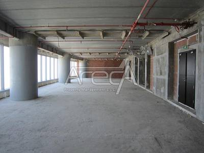 Office for Rent in Al Reem Island, Abu Dhabi - Big Office Space! Core And Shell with Facilities, Sea View! Sky Towers