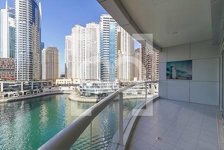 2 Bedroom Flat for Rent in Dubai Marina, Dubai - Spacious - Facing Marina Mall - Unfurnished