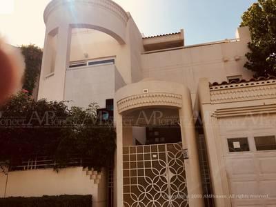 5 Bedroom Villa for Rent in Al Karamah, Abu Dhabi - Fabulous 5-Master Bedroom in a Compound in Karama'