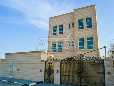 5 Bedroom Villa for Rent in Baniyas, Abu Dhabi - Gorgeous 5 Master Bed Villa with a Full Floor Suite in Baniyas East!