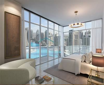 2 Bedroom Apartment for Sale in Dubai Marina, Dubai - Marina View | High floor | Attractive Payment Plan