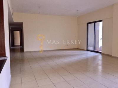 4 Bedroom Flat for Rent in Jumeirah Beach Residence (JBR), Dubai - Very Spacious Layout 4BR with Maids room