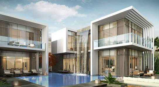6 Bedroom Villa for Sale in DAMAC Hills (Akoya by DAMAC), Dubai - Standalone Big Villa. High end Trump finishing.Completion 2021.