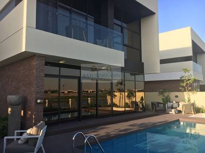 5 Bedroom Villa for Sale in DAMAC Hills (Akoya by DAMAC), Dubai - Ready to move in!Luxury Golf Cousre Villa ! Payment Plan!
