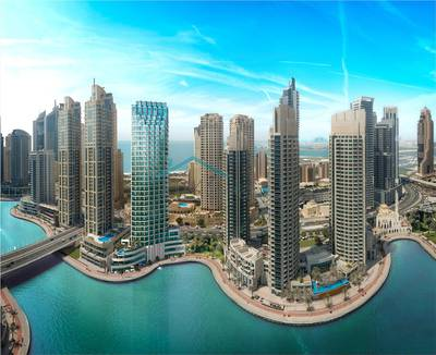 2 Bedroom Flat for Sale in Dubai Marina, Dubai - 2 Bed mid floor with comfortable layout