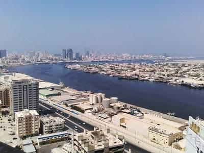 2 Bedroom Flat for Rent in Ajman Downtown, Ajman - Seaview!! Two Bedroom Flat for Rent with Parking in Pearl Towers, Ajman