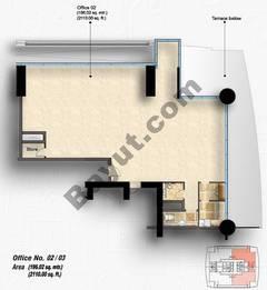 9th Floor Office Unit Type B
