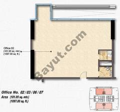 Typical Floors Office Unit Type C