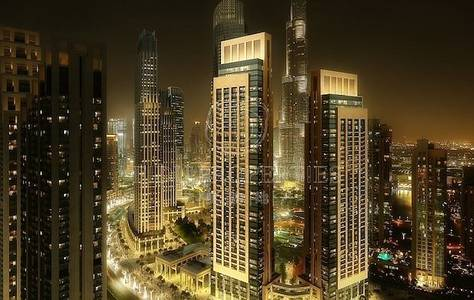 3 Bedroom Apartment for Sale in Downtown Dubai, Dubai - 3yrs FREE service fee | 5yrs payment plan