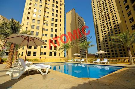 3 Bedroom Flat for Rent in Jumeirah Beach Residence (JBR), Dubai - Excellent 3 Bed room with maid room with Full facilities