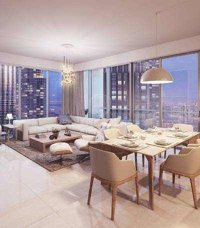 3 Bedroom Apartment for Sale in Downtown Dubai, Dubai - 5 Yrs Post Handover | No service charges