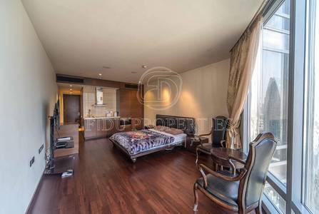 Studio for Sale in Downtown Dubai, Dubai - Middle Floor | Opera and Sea View | Vacant