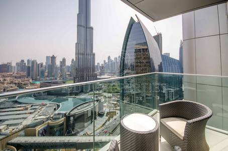 2 Bedroom Apartment for Sale in Downtown Dubai, Dubai - 5 Star amenities | Fountain View | Elegant